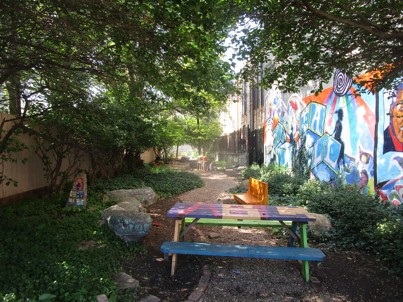 Garden at Chicago Youth Centers ABC Polk Bros.