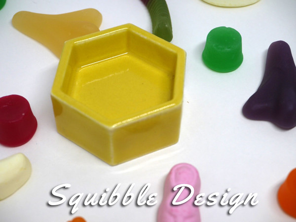 Hexagon Ring Dish by Squibble Design