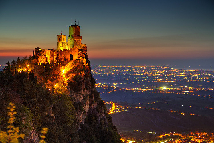 San Marino Twilight