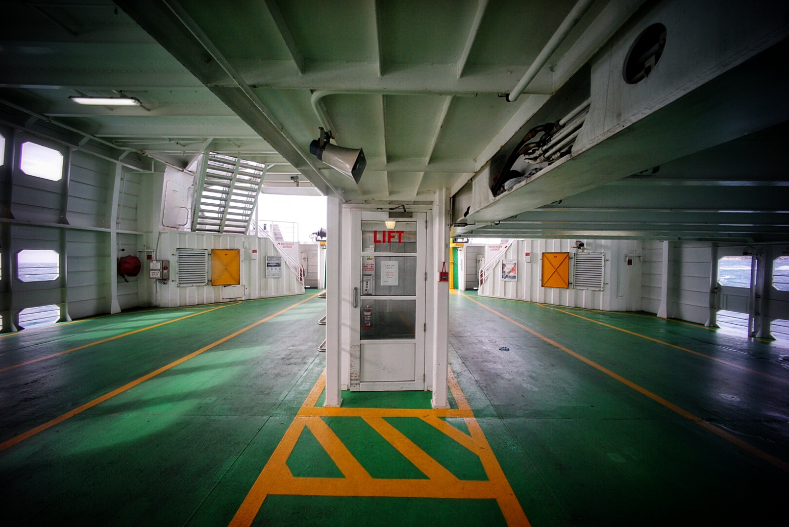 Ferry Interior 2 #sonya7 #voigtlander12mm #ultrawideangle #ultrawideheliar #sorrento #queenscliff #ferry
