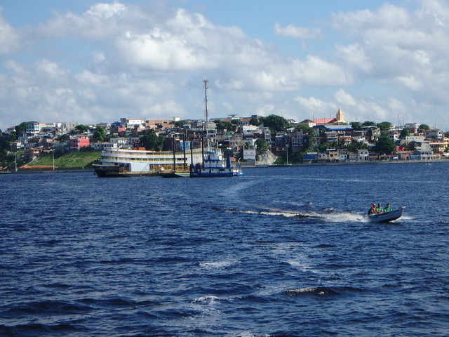 From the Rio Negro, Looking at Manaus