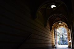 Begijnhof's entry door