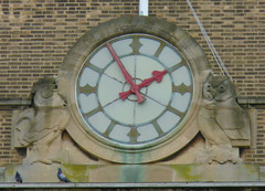 Cambridge Guildhall Clock