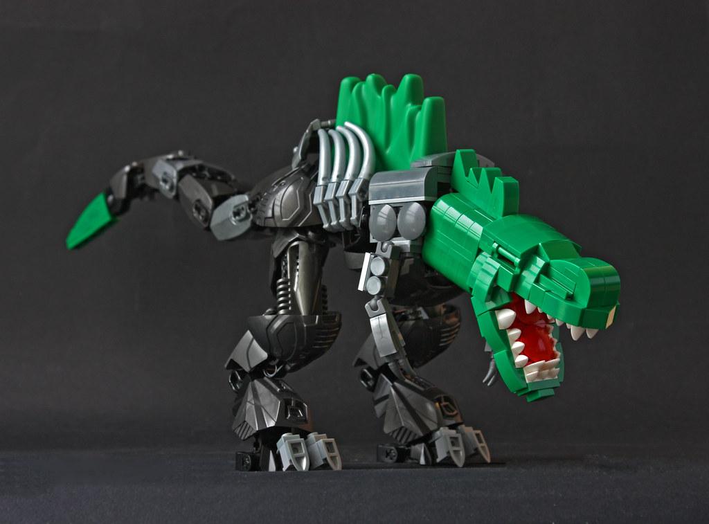 CMT-Rex (custom built Lego model)