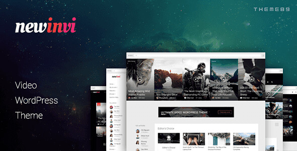 Newinvi WordPress Theme free download