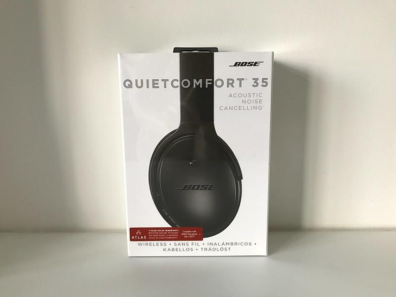 Bose QuietComfort 35 (QC35) Wireless Headphones