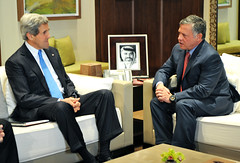 Secretary Kerry Meets With Jordanian King Abdullah II