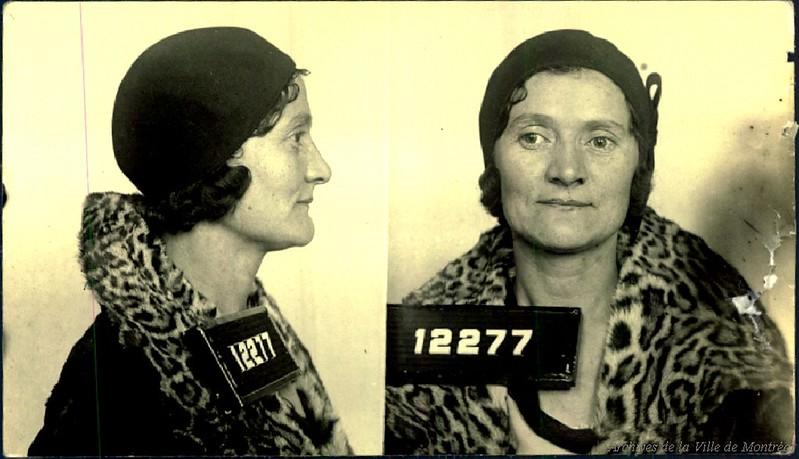 Liliane Brown, alias Ida Katz, tenancière, années 1930 ou 1940. P43-3-2_V26_E265-01