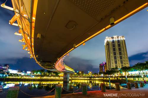 longexposure night canon eos nightshot taiwan kaohsiung 台灣 高雄 夜景 黑卡 高雄市 長曝 愛河之心 1635mmlii heartofloveriver 5d3 5dmarkiii