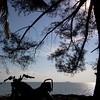 RX-King @YamahaIndonesia menanti sunset di Pantai Romodong,Belinyu,Bangka Belitung #travelling
