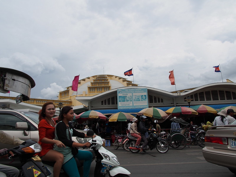 Grand Market in Phnom Penh