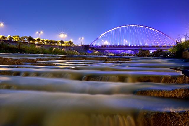 Bridge and streams 台中浪漫情人橋