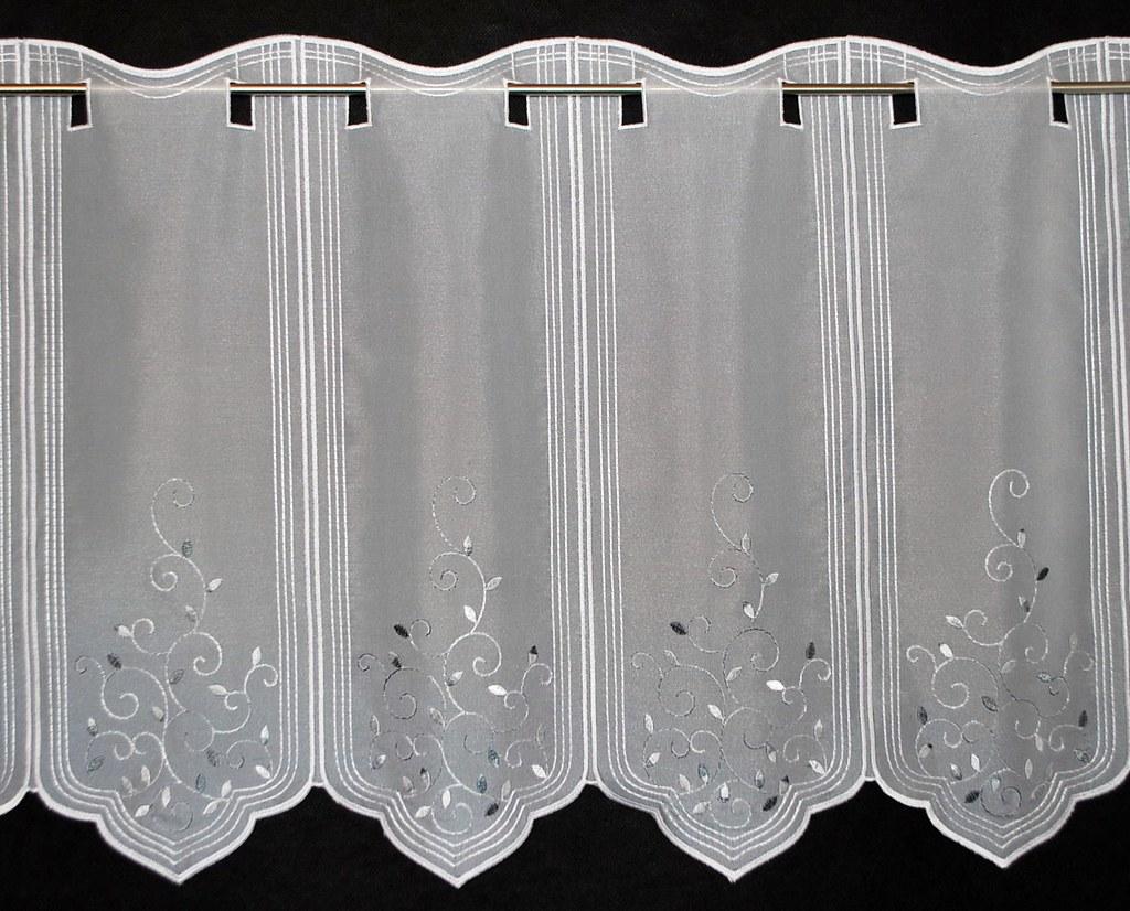 16 cm breite scheibengardine 45 cm hoch mehrere farben ebay. Black Bedroom Furniture Sets. Home Design Ideas