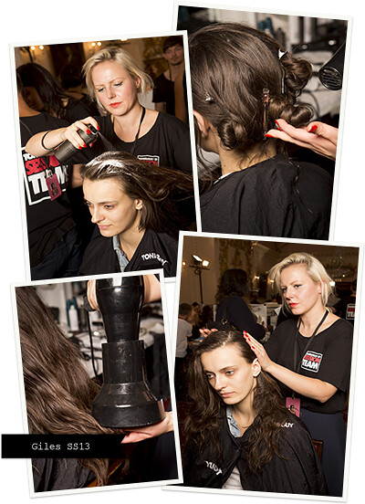 London Fashion Week with TONI&GUY - GILES