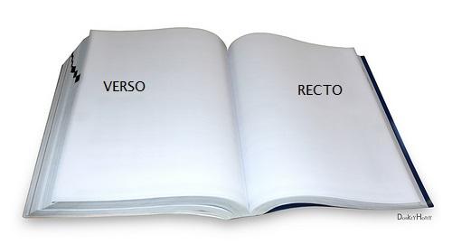 Verso - Recto