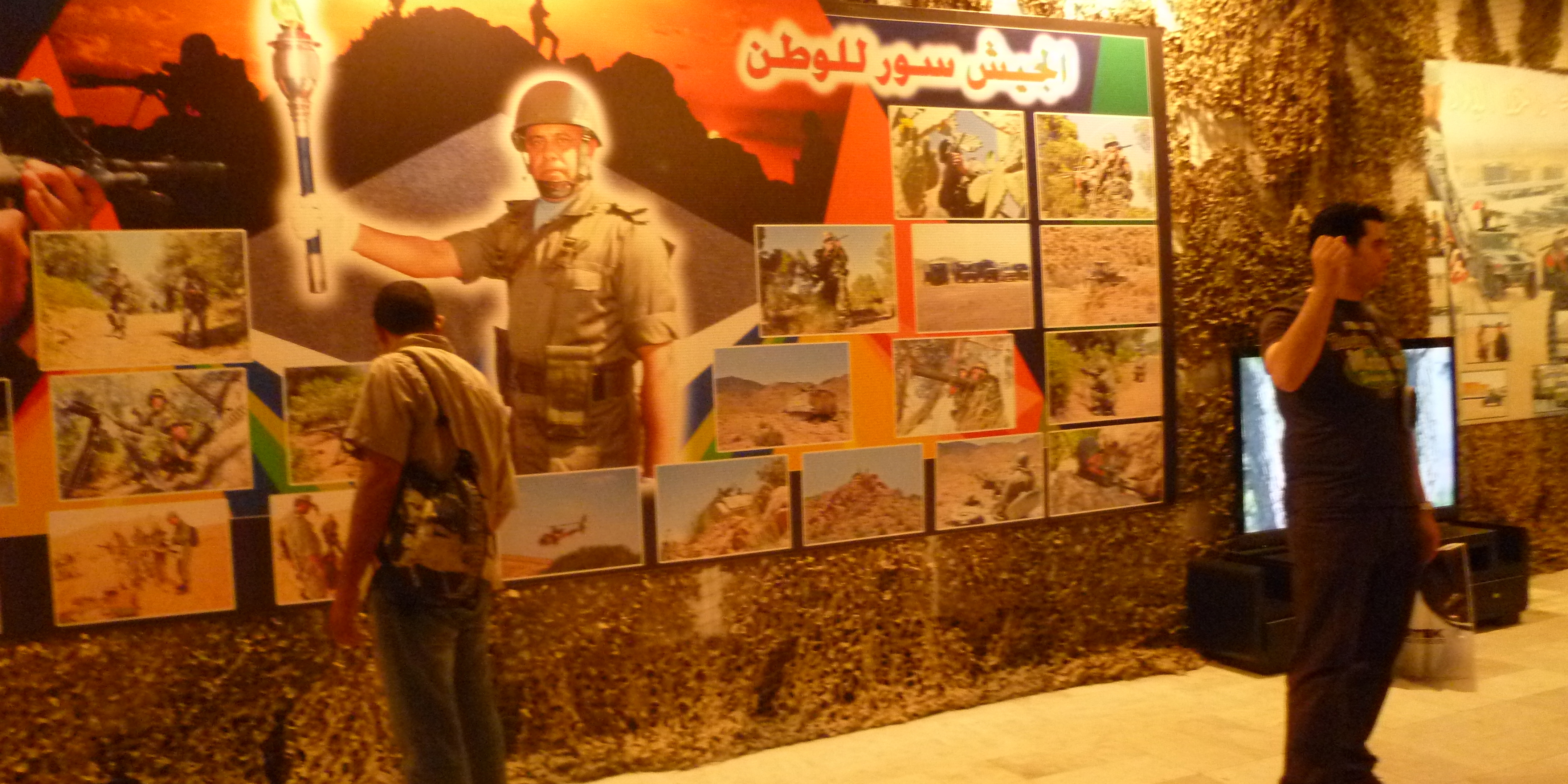 Exposition in Tunis in honor of National Army Day, June 25, 2013. Photo credit: Emily Parker, Tunisia Live