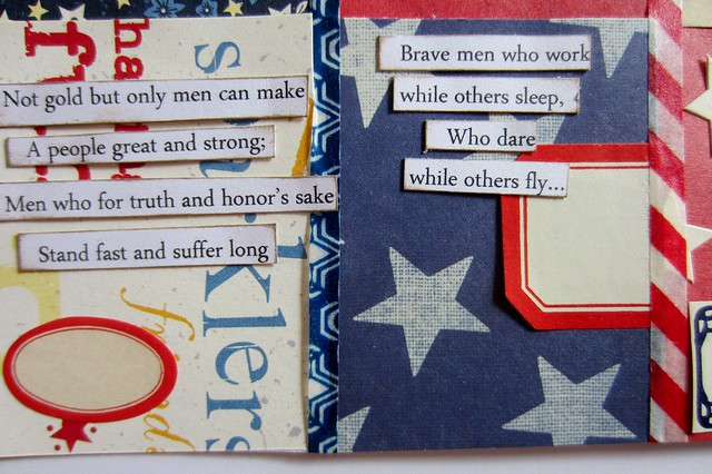Red, White, & Blue Tiny Book 6