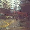 Mong Kok in the rain