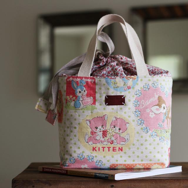 bento lunch bag pattern from amy morinaka 39 s book zakka. Black Bedroom Furniture Sets. Home Design Ideas