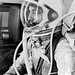 Small photo of Alan Shepard in Space Suit before Mercury Launch