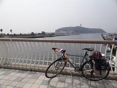 江ノ島着いた