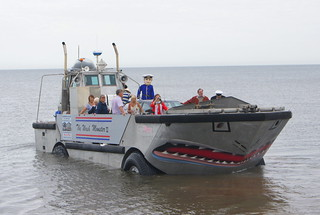Captain Willie sets sail! Hunstanton 23/08/13 (c) David Bell