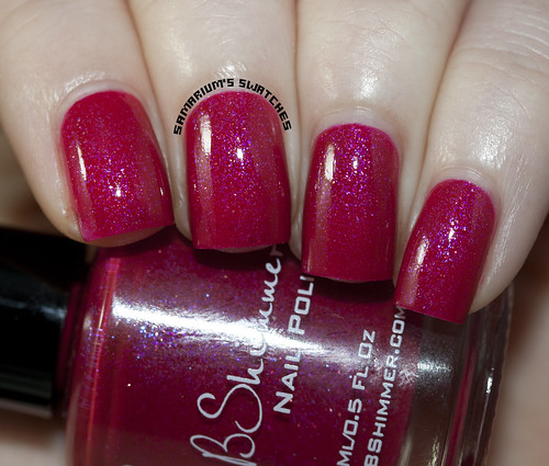 KBShimmer Every Nook and Cranberry with Topcoat