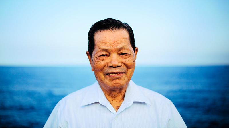 老人與海。