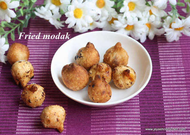 Fried -modak