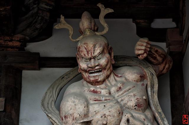 「金剛力士像−阿形」 法隆寺 - 奈良