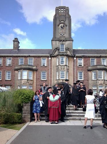 Graduation by Helen in Wales