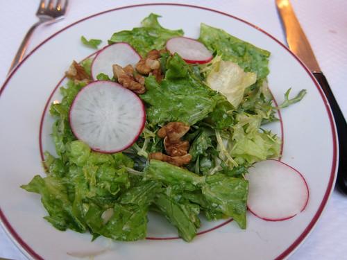 Salade aux Nois