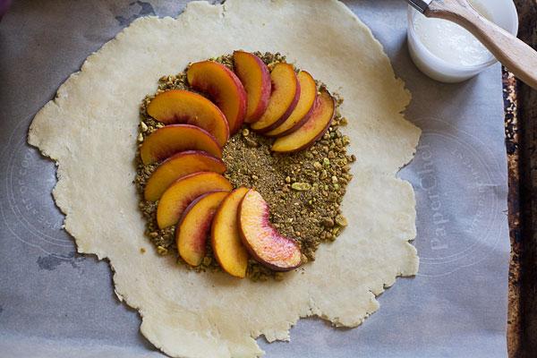 Peach Pistachio Galette_3