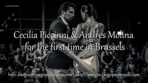 Cecilia Piccinni & Andres Molina in Brussels