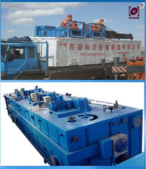 well drilling machines- Kosun solids control equipment- mud tank