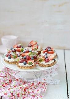 summer berries tartlets.21