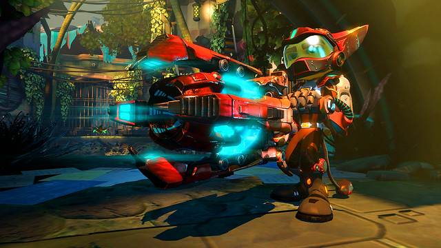 Ratchet & Clank: Into the Nexus on PS3