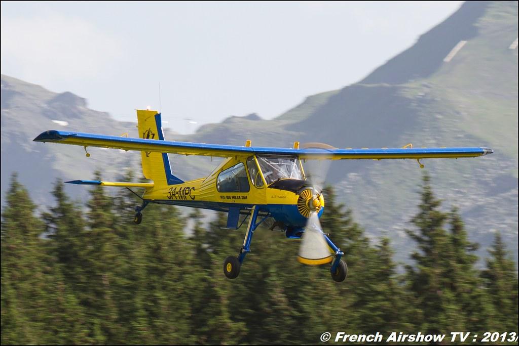 PZL-Okecie PZL-104 Wilga-35A , Meribel Air Show 2013