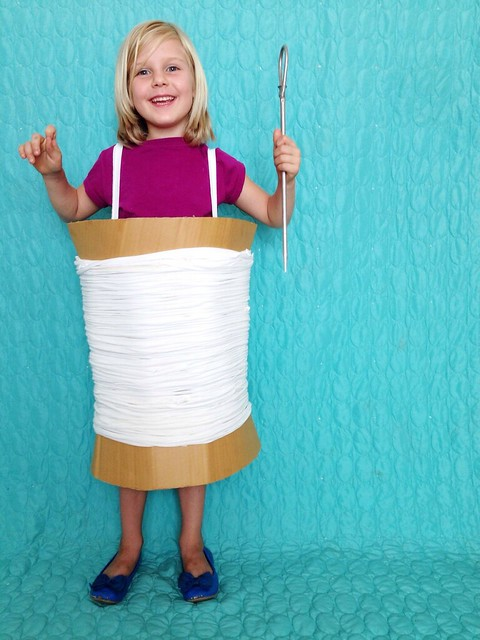 DIY Needle and Thread Costume for Kids