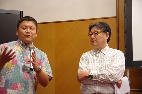 Mr. Tanaka & Mr. Momoi
