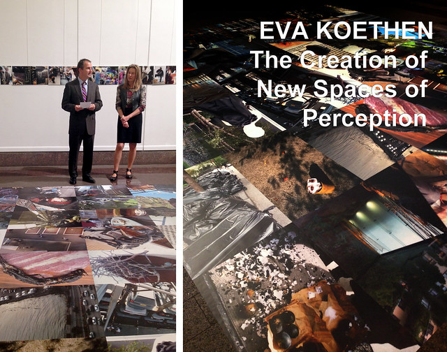 The Creation of New Spaces of Perception by Eva Koethen