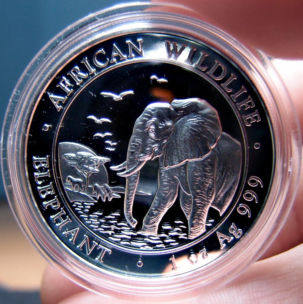 """Colección de onzas de plata """"Somalian African Wildlife""""  10276713014_dd84dc45fb_b"""