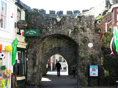 Photo of West Gate, Tenby white plaque