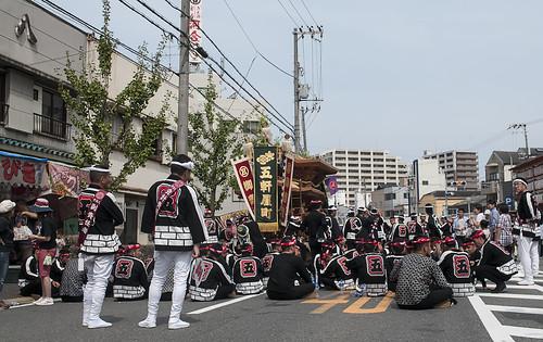 Kishiwada Danjiri Matsuri 岸和田だんじり祭 39