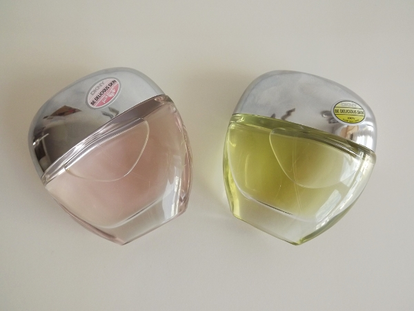 DKNY Be Delicious Skin Original Perfume and DKNY Be Delicious Skin Fresh Blossom Perfume