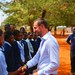 UNDP Goodwill Ambassador Crown Prince Haakon of Norway visit to Mukuni village, Zambia