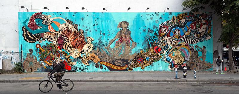 "Swoon's ""Recovery Diaspora"" on Houston Street"