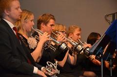 Brassbandfestivalen 2012 - Bakre kornettraden i BK