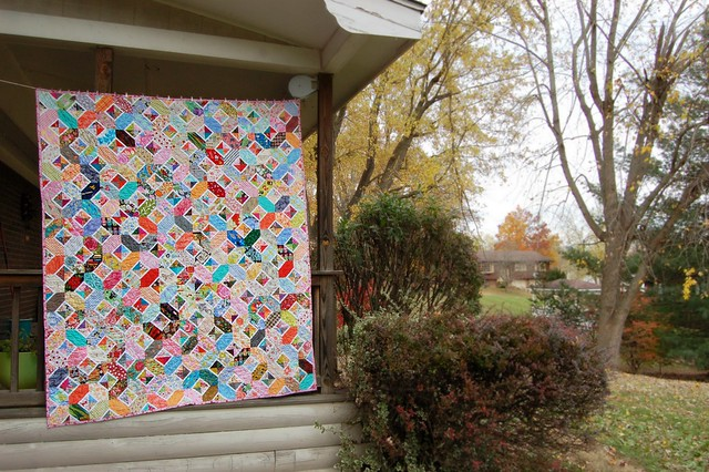 Kaori's Hugs and Kisses Quilt Porch