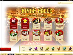River Belle Casino Lobby